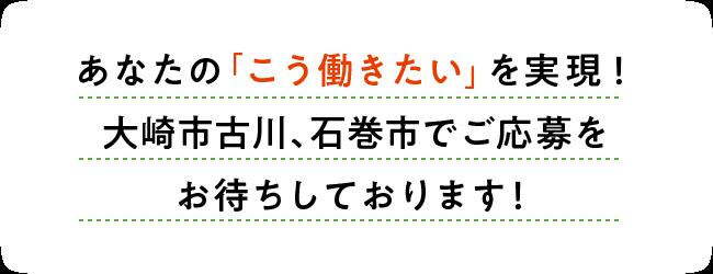 リンメディカルサポート あなたの「こう働きたい」を実現!大崎市古川、石巻市でご応募をお待ちしております!